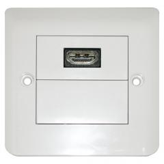 Dr.HD 1xHDMI rosette, square