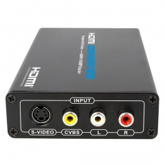 Dr.HD CVBS + S-Video to HDMI (Upscaler 1080p)