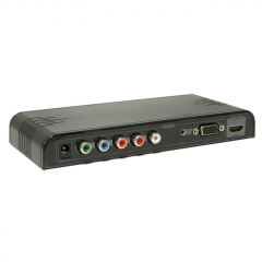 Dr.HD VGA + YPbPr to HDMI (Upscaler 1080p)