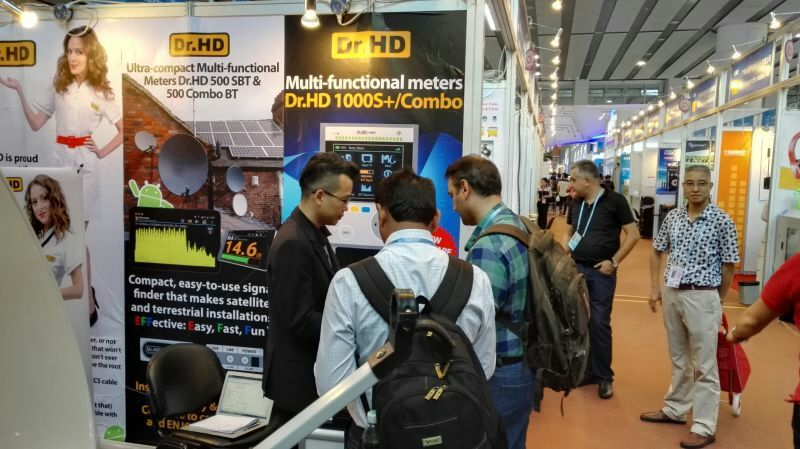 Dr.HD на выставке Conton Fair 2015